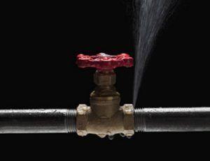 фото: Как заделать свищ в трубе под давлением