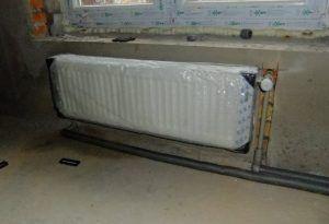 фото: Прокладка труб отопления