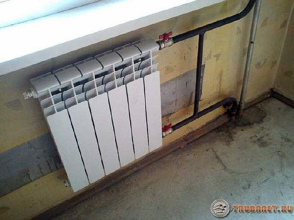 фото: Стальное отопление