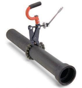 фото: Цепной труборез для стальных труб