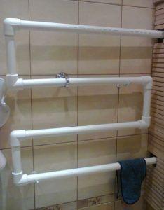 фото: отопление из пластиковых труб