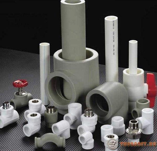 фото: трубы из полипропилена для отопления и водоснабжения