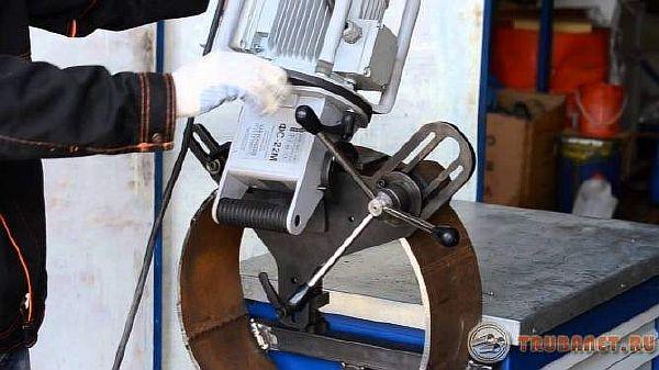 фото: Фаскосниматель для металлических труб