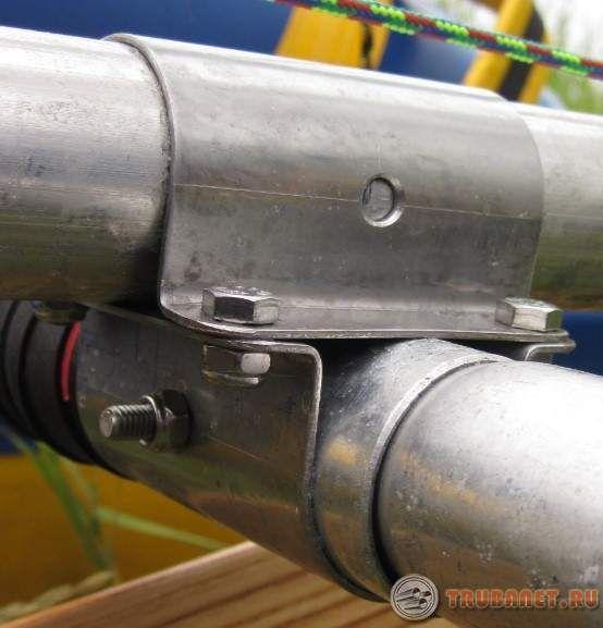 Фото: Хомуты для крепления труб