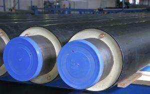 Фото: Изоляция стальных труб