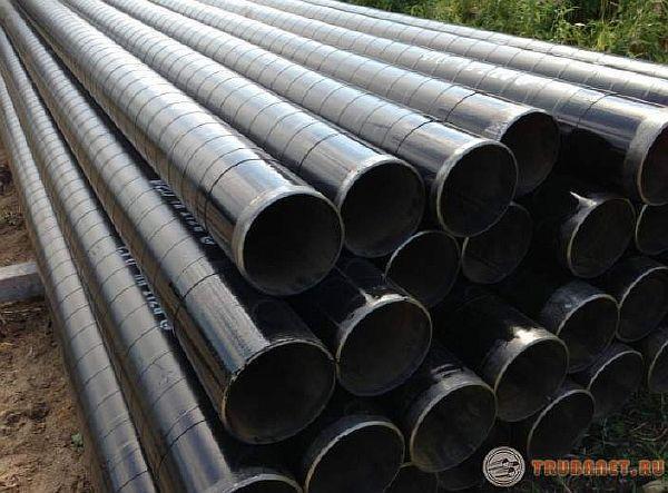 Фото: Ленточное антикорозийное и теплоизоляционное покрытие труб из стали