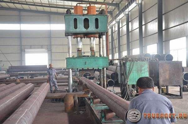 Фото: Производство стальных трубопрокатов