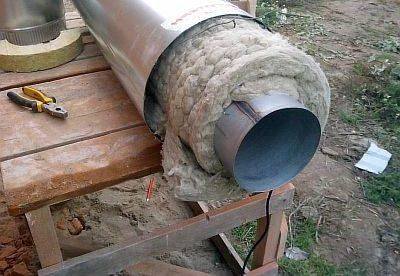 Как сделать дымоход своими руками из стальной и керамической трубы