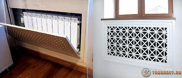 Фото: Задекорируем радиаторы с помощью Фальш стенки из деревянных планок