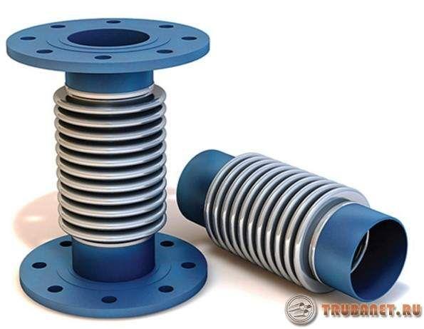 Фото: Компенсаторы для трубопроводов отопления