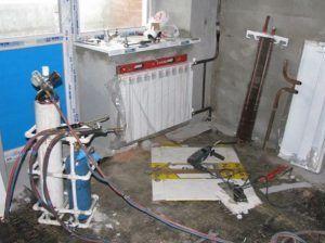 Фото: Промывка и опрессовка систем отопления