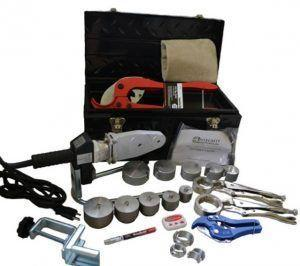 Фото: инструменты соединение пластиковых труб