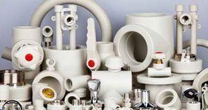 Фото: сантехника: трубы пластиковые и фитинги