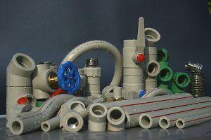 Фото: 5. полипропиленовые трубопрокаты для отопления и фитинги к ним