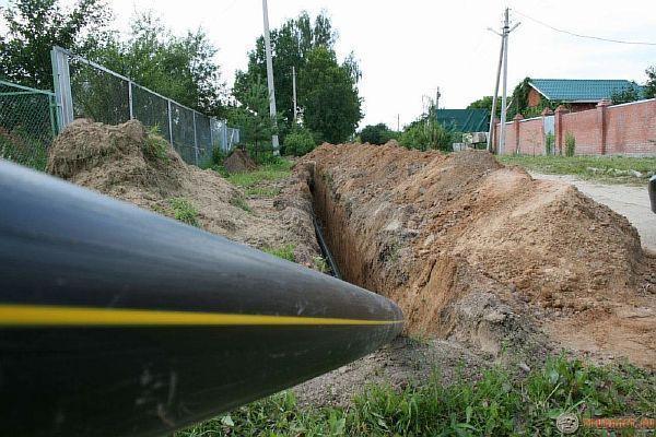 Фото: трубы газовые из полиэтилена