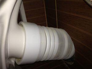 Фото 2. Фановая гофрированная труба