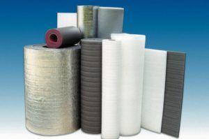 Фото 4. Разновидности материалов утеплителя
