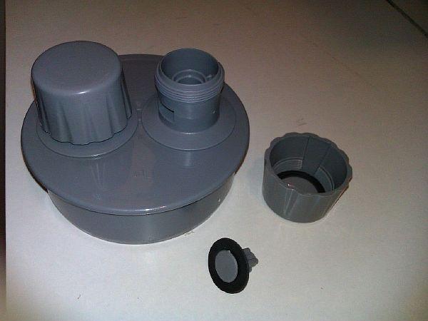 Фото 4. Вакуумный клапан для канализации