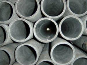 Фото 2. Асбестовые трубные изделия