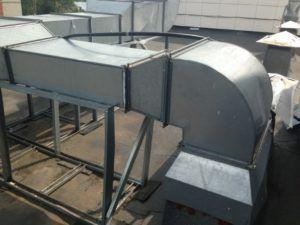 фото: Вентиляция на крыше