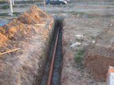 фото - глубина укладки водопровода