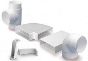 Фото: вентиляционные пластиковые трубки