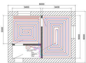 фото схемы длины контура