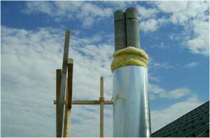 Фото – термоизоляция асбестового трубопроката
