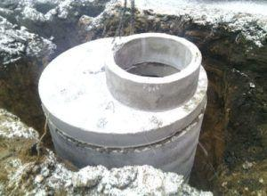 Фото: бетонного колодца для канализации