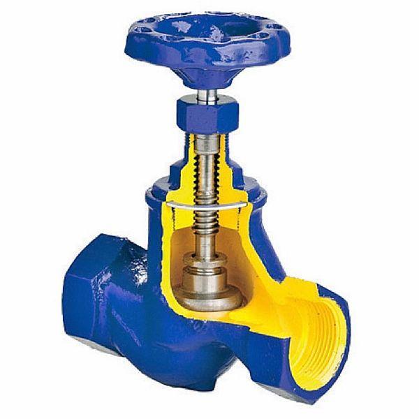 Фото - запорный клапан для муфтового соединения