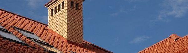 Фото - дымовая труба на крыше частного дома