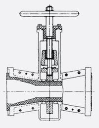 Фото – Шланговое запорное устройство для перекрытия водопроводной трубы.