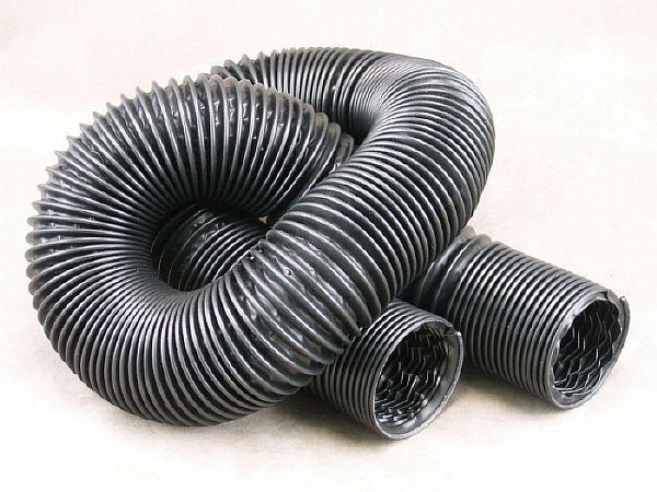 Фото -  Армированный пластиковый воздуховод для вентиляции