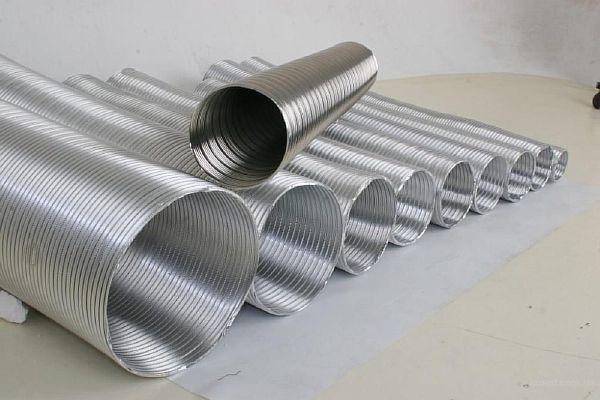 Фото - гибкие вентканалы для системы вытяжной вентиляции