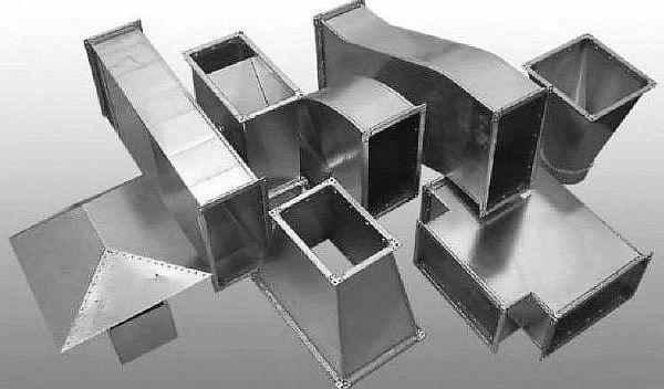 Фото - Металлические воздуховоды для систем вентиляции и комплектующие изделия к ним
