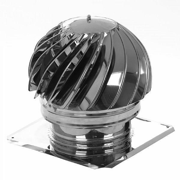 Фото - дефлектор на вытяжную трубу