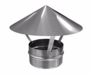 Фото – простейшая конструкция дефлектора Григоровича в форме конуса