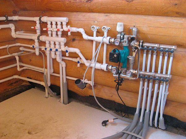 Фото – водопровод из полипропилена