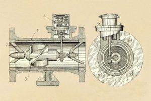 Фото – схема устройства счетчика на воду