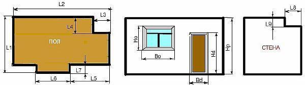 Фото - как рассчитать площадь комнаты