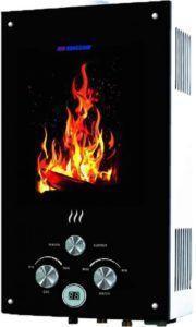 Фото – газовая водонагревательная колонка