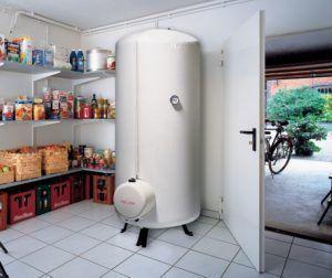 Фото – напольный водонагреватель