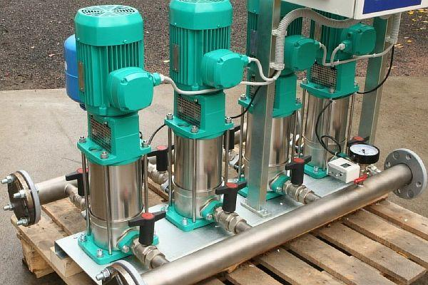 Фото – насосная станция для водопровода модели Вило