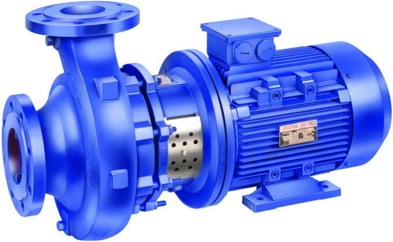 Фото – центробежный насосный агрегат для водопровода