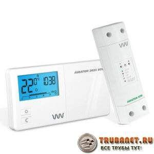 Фото – программируемый термодатчик режима отопления