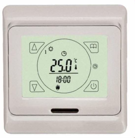 Фото – сенсорный терморегулятор нагрева