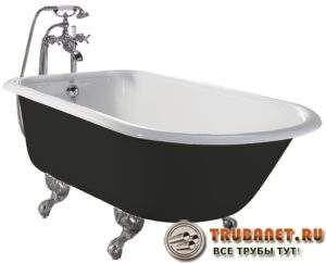 Фото – стандартная чугунная ванна