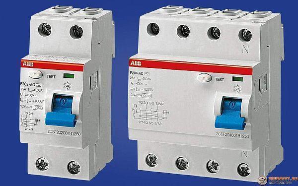 Фото – устройство для отключения электросети при замыкании