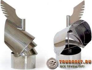 Фото – дефлектор-флюгер для вытяжной вентиляции