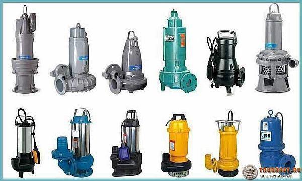 Фото – фекальные устройства различных типов для канализации